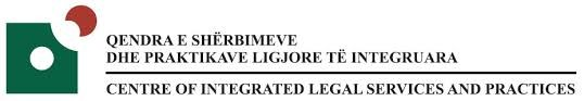 Logo Center of integrated legal services and practices