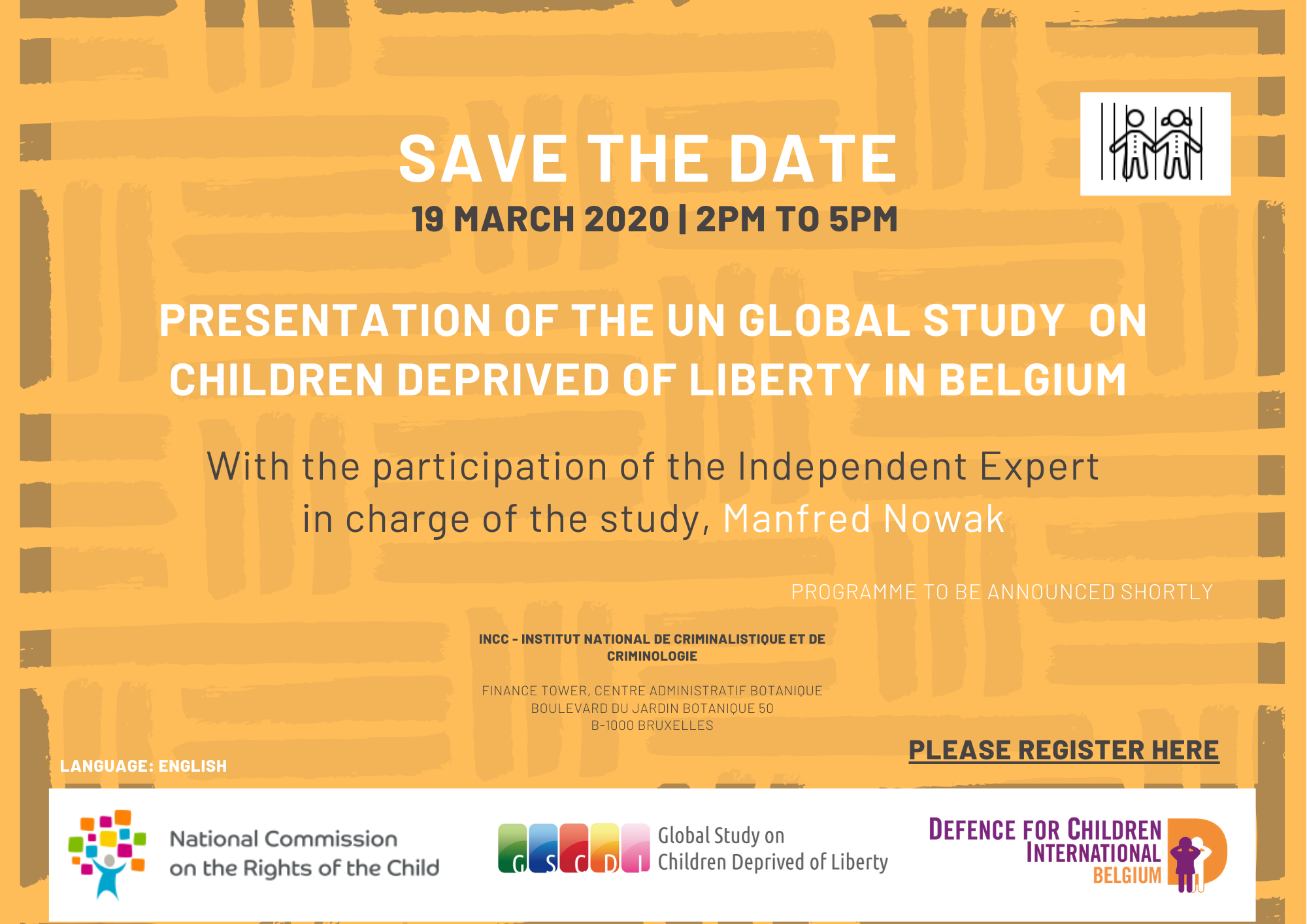 Save the Date Global Study event